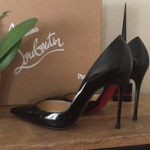 Christian Louboutin 37.5 Patent Leather Pumps
